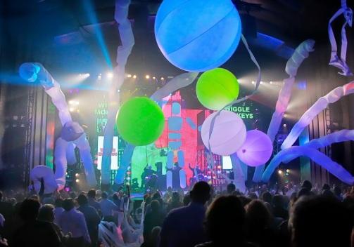 Blue Man Group National Tour Photo credit: ©Paul Kolnik
