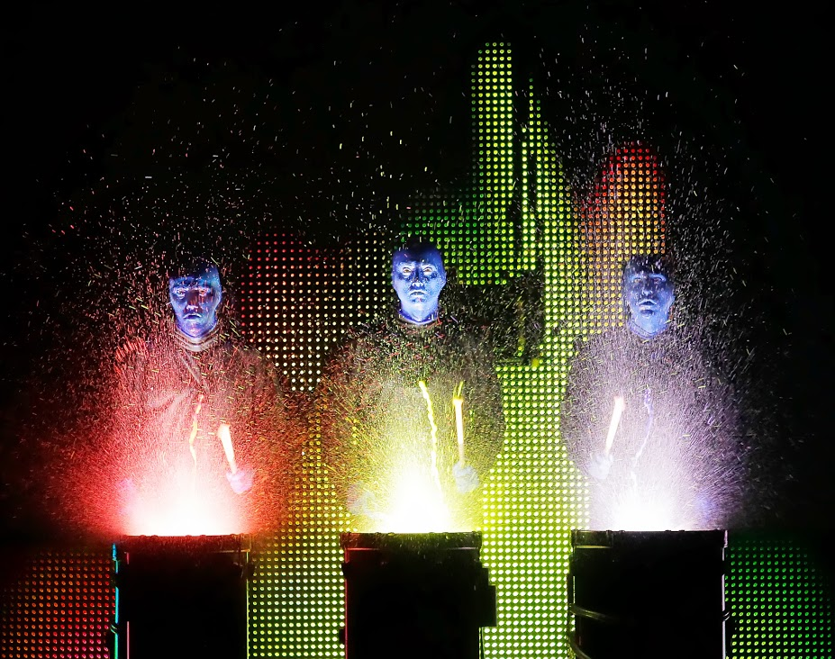 Blue Man Group National Tour Photo credit: ©Paul Kolnik