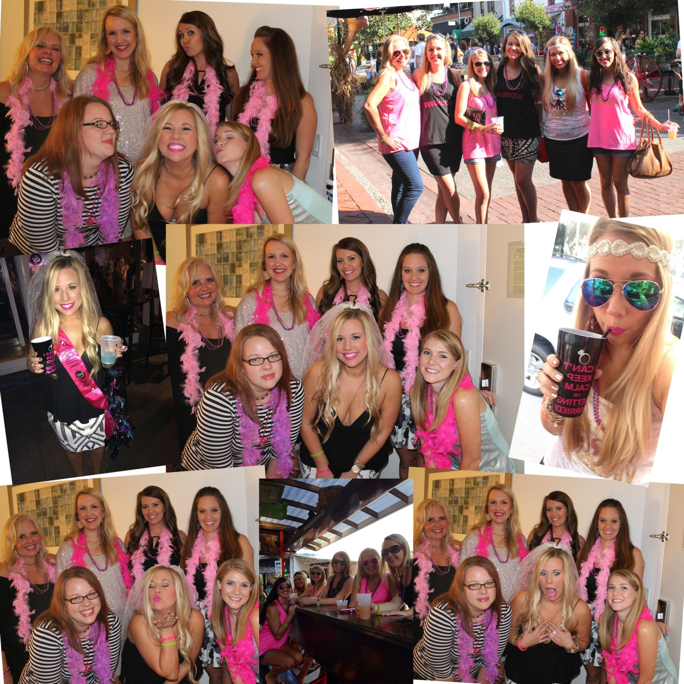 Bach Party Collage