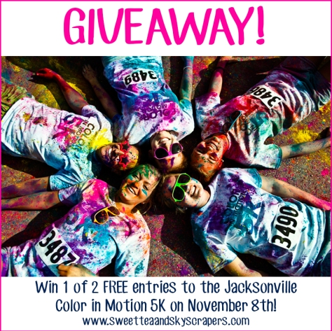 color run giveaway