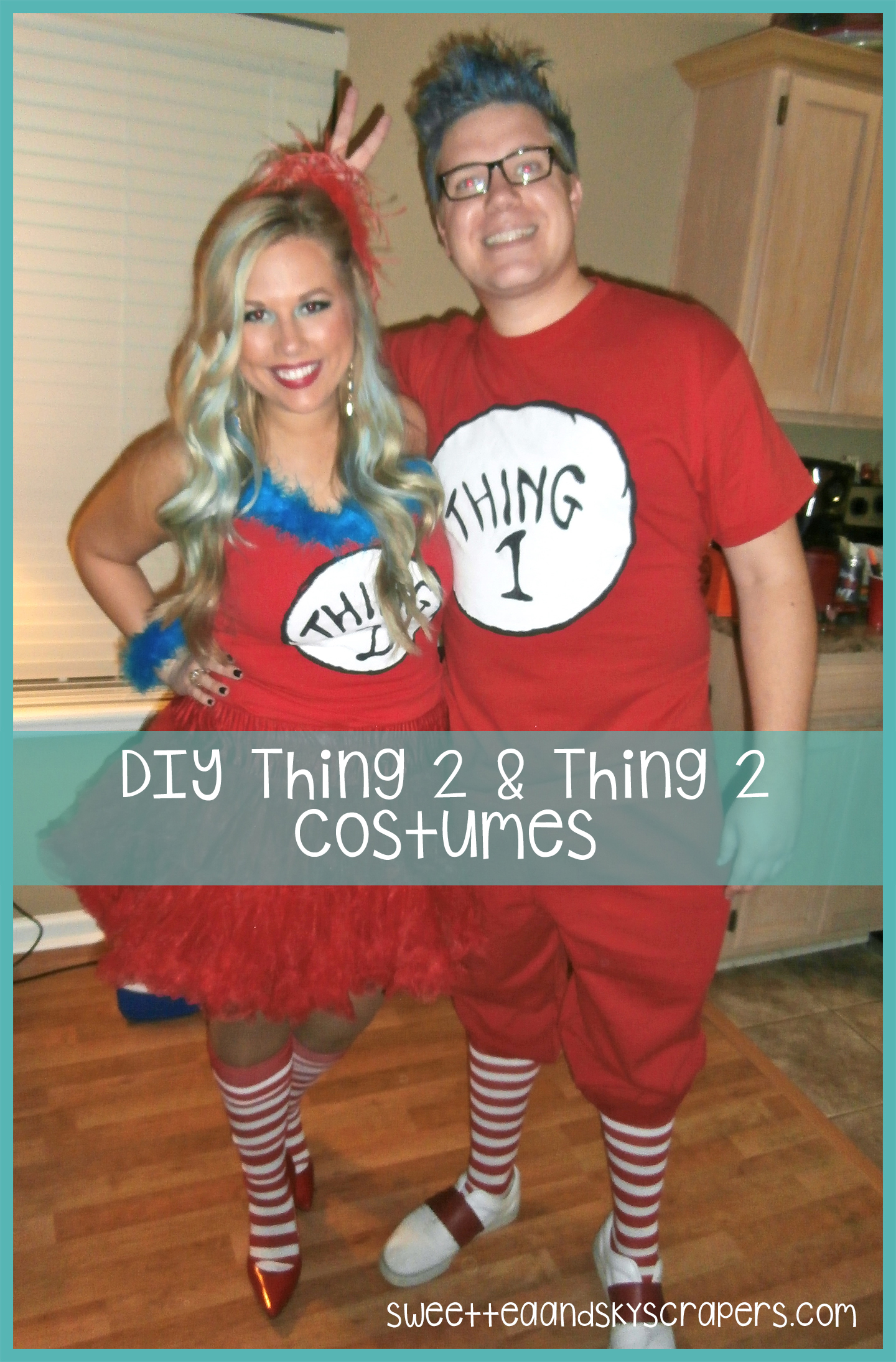 Diy Thing Halloween Costume This Blonde Life