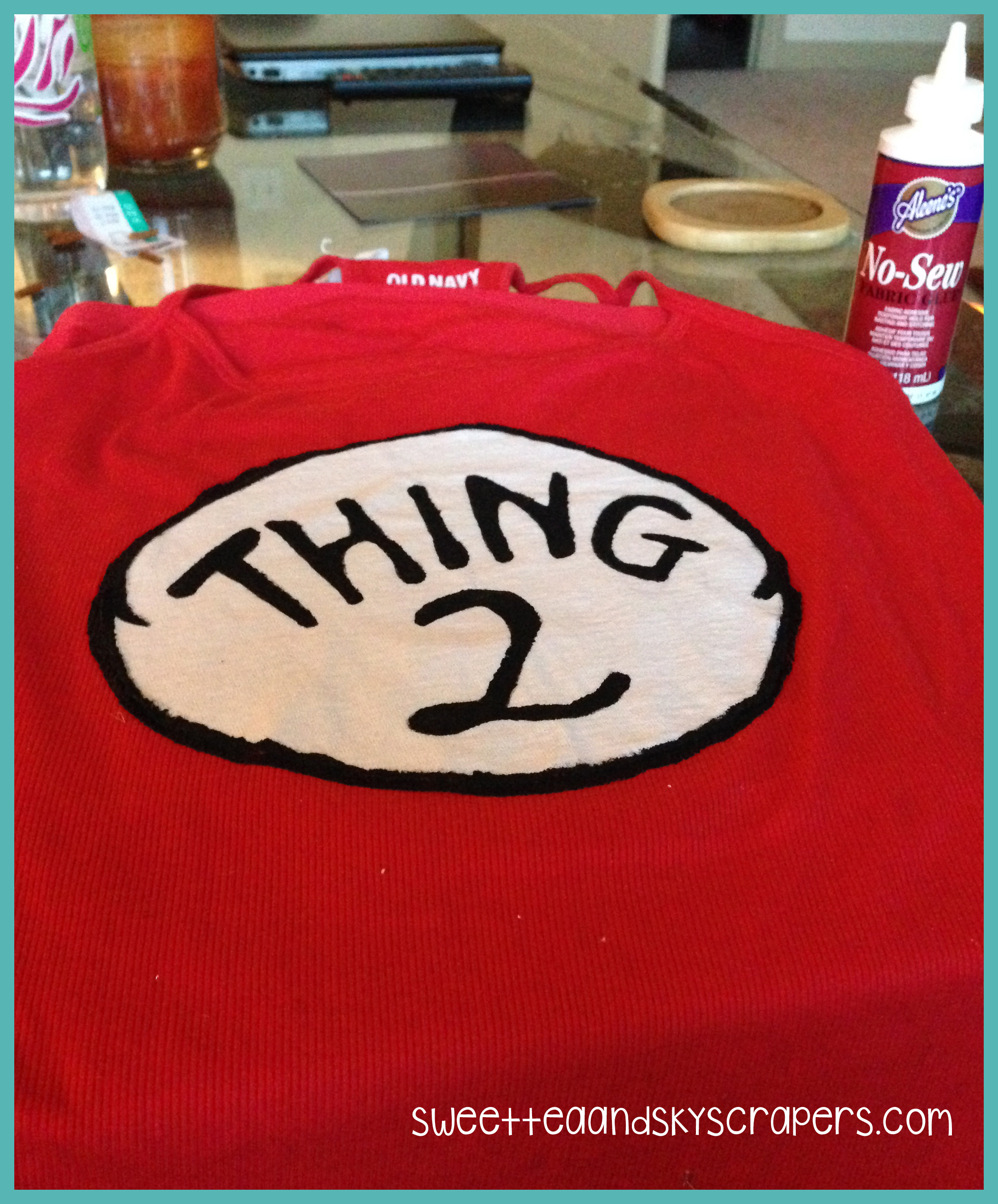 Diy Thing 1 And Thing 2 Shirts Without Transfer Paper