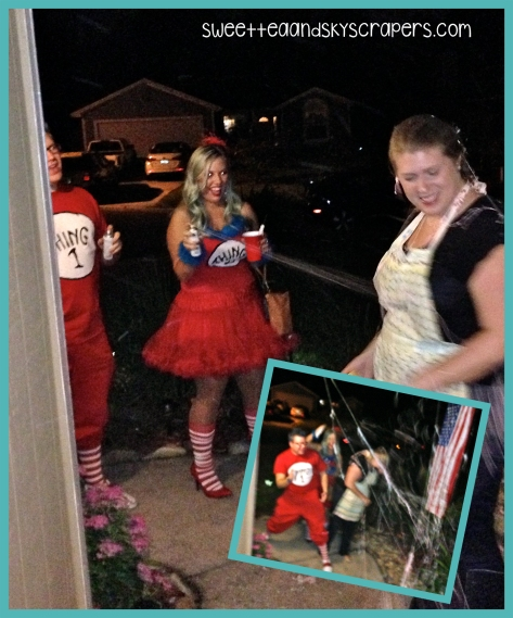 "DIY ""Thing"" Halloween Costume – THIS BLONDE LIFE"