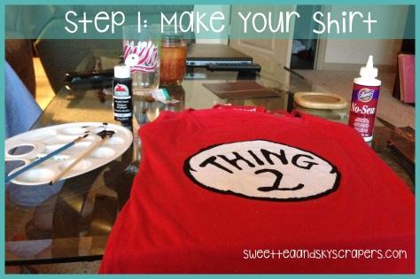 step 1 - shirt