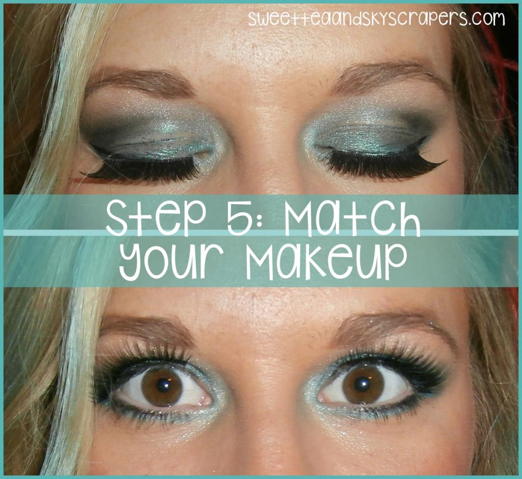 step 5 - makeup
