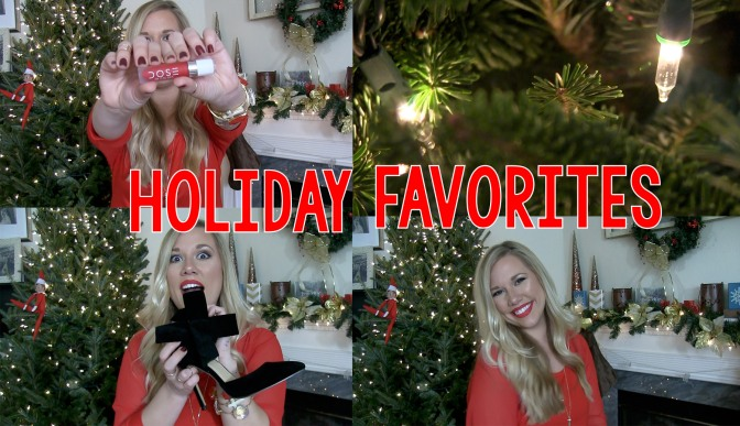 Holiday Favorites Video   Beauty, Fashion and Accessories